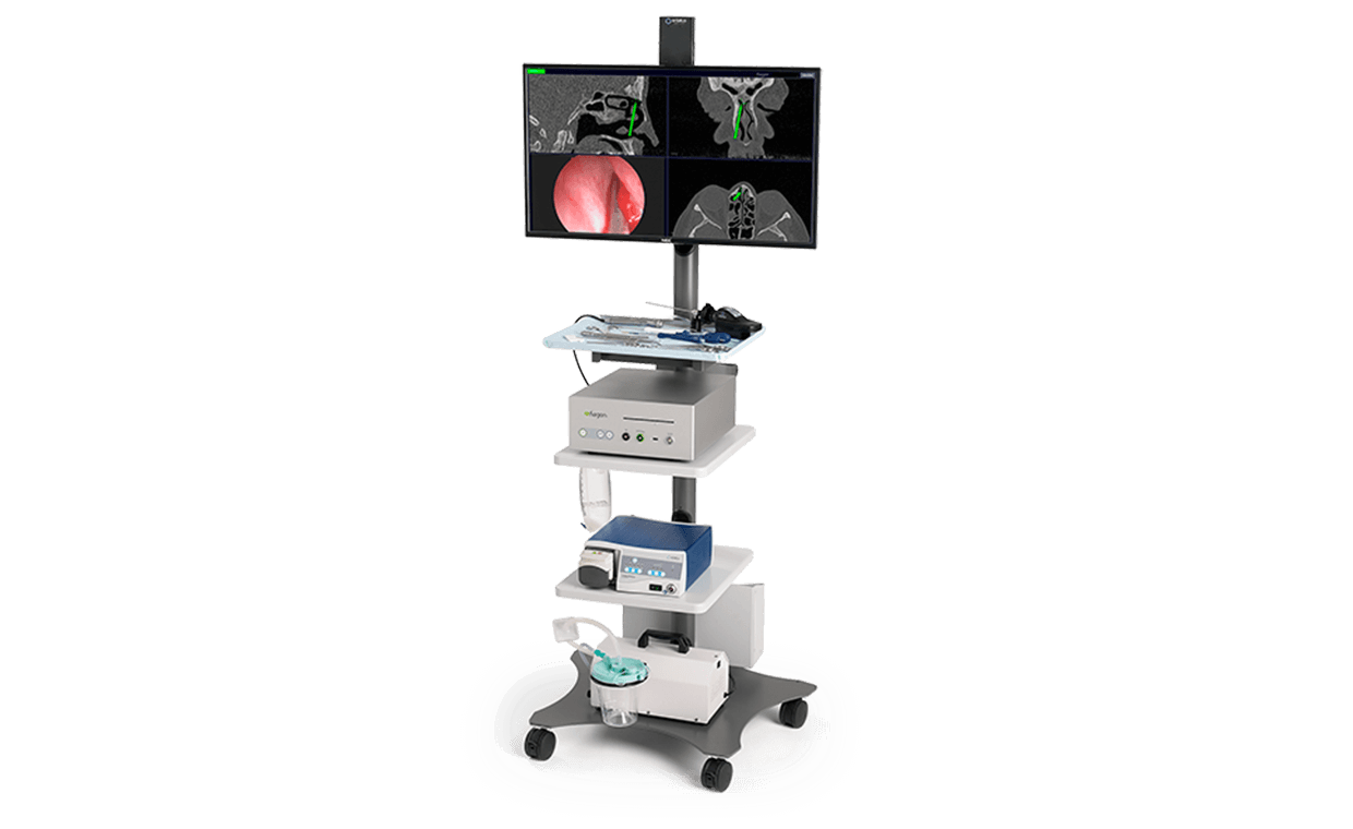 entellus medical cart and monitor